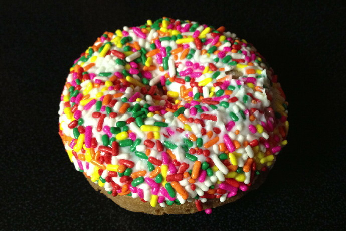 photo of a cake donut from Westward Orchards, Harvard, MA