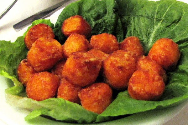 photo of sweet potato puffs from Winthrop Arms, Winthrop, MA
