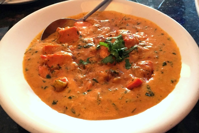 photo of chicken korma from Zaika Indian Bistro, Woburn, MA